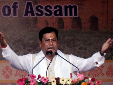 Assam Chief Minister Sarbananda Sonowal. PTI