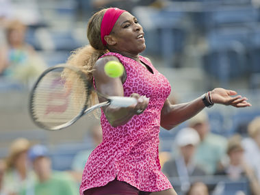 File image of Serena Williams in action. Reuters
