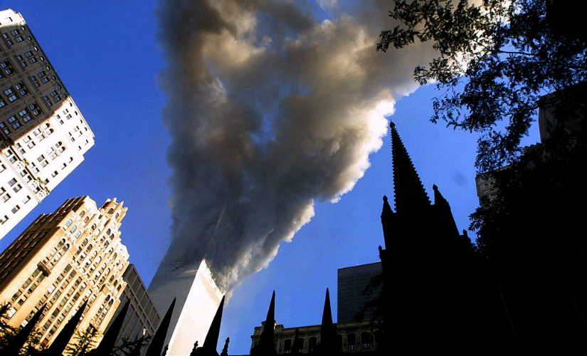 World Trade Centre during 9/11 attacks. Getty Images
