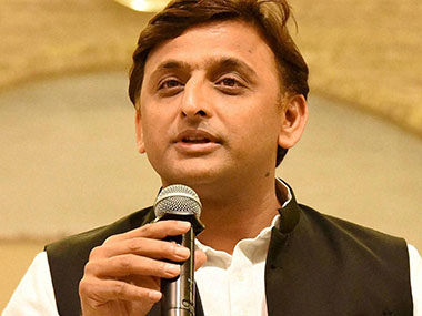File photo of Uttar Pradesh Chief Minister Akhilesh Yadav. PTI