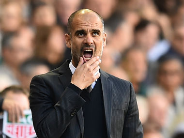 Manchester City boss Pep Guardiola aims to return to winning ways after his side suffered their first loss under his reign. AFP