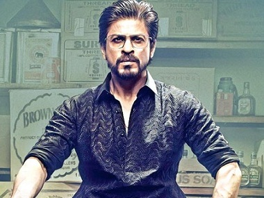 Shah Rukh Khan in the poster of 'Raees'