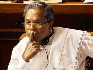 File image of chief minister siddaramaiah. News18