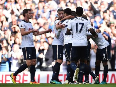 Tottenham Hotspur produced an impressive performance to beat Manchester City 2-0 at White Hart Lane. Image Courtesy - Twitter@SpursOfficial