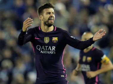 File photo of Gerard Pique . Reuters