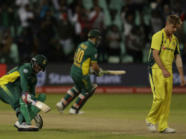 All the Australian bowlers were inconsistent in line and length. AP