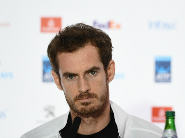 File image of Andy Murray. AFP