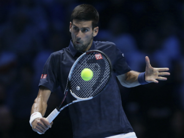 Novak Djokovic secured a comeback victory against Dominic Thiem. AP