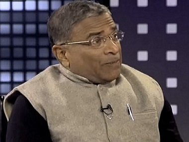 File image of JDU MP Harivansh. Screen grab from YouTube