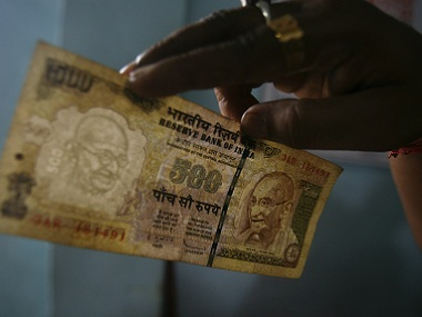 Rs 500 currency notes are only worth the paper they are printed on, PM Modi has said. Reuters