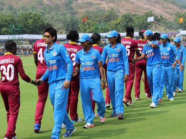 Indian women's team after their defeat to West Indies. Image courtesy: BCCI official website.
