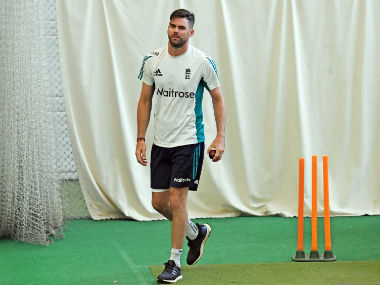 James Anderson's last appearance in a Test was in August against Pakistan. AFP