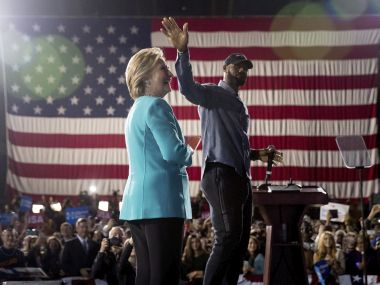 LeBron James had vocally supported Hillary Clinton. AP
