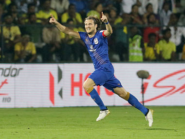 Diego Forlan has impressed for Mumbai City FC this season with five goals. ISL