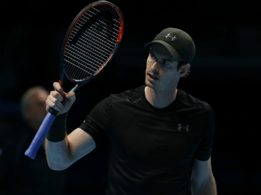 File image of Andy Murray. AP