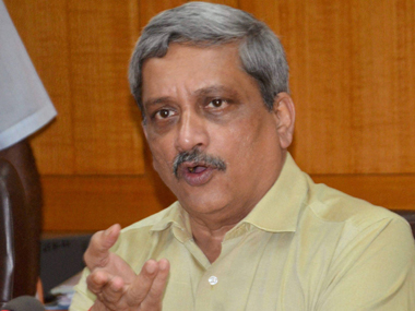 Manohar Parrikar. PTI file photo