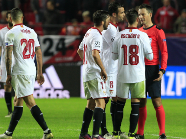 Sevilla were quite frustrated by their loss to Juventus, but will be looking to redeem themselves against Lyon. AP