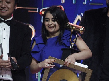 Sharvi Yadav was declared the winner of The Stage 2. Image courtesy Colors Infiniti