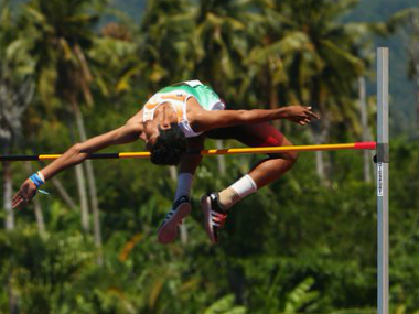File image of Tejaswin Shankar from the Commonwealth Youth Games 2015. Twitter/thecgf