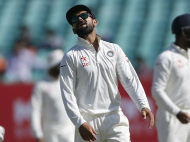 Virat Kohli was served the first proper challenge on home soil in his tenure as Test captain. AP