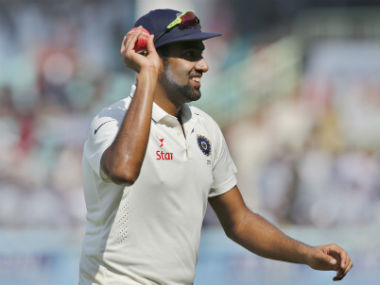 Ashwin, who scored a half-century in India's first essay, ripped through the English batting line-up. AP