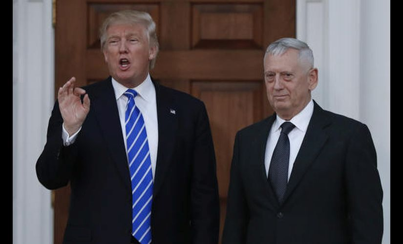 Trump picks 'Mad Dog' Mattis as defence secretary