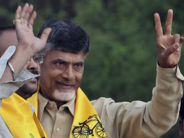 File photo of Andhra Pradesh Chief Minister Chandrababu Naidu. AP
