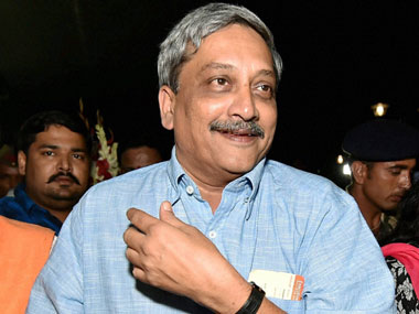 Manohar Parrikar. File photo. PTI