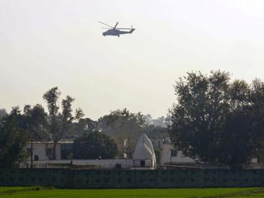 Pathankot air base. AFP