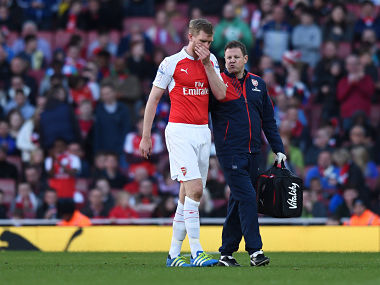 Premier League: Arsenal's Per Mertesacker eyes new year return