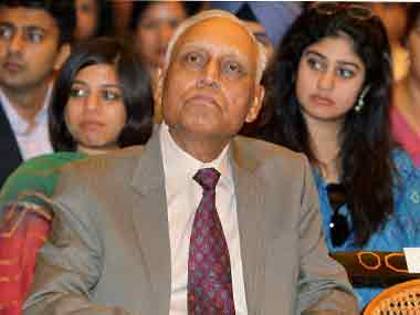Former IAF chief SP Tyagi. PTI