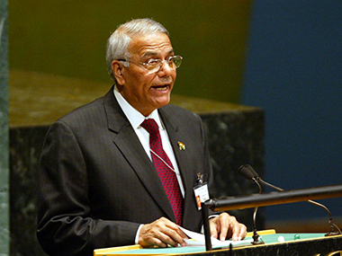 Former External Affairs Minister Yashwant Sinha. Getty Images