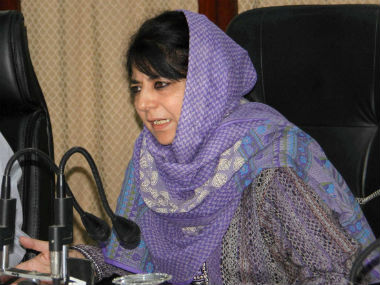 Jammu and Kashmir Chief Minister Mehbooba Mufti. PTI