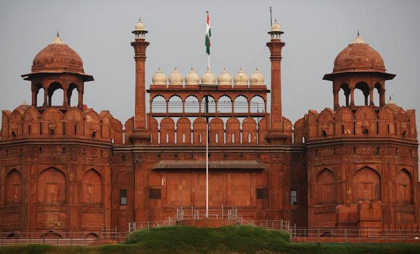 The historic Red Fort is pictured in the old quarters of Delhi, India. Reuters