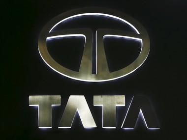 The logo of Tata Motors is pictured at at the 37th Bangkok International Motor Show in Bangkok, Thailand, March 22, 2016. REUTERS/Chaiwat Subprasom/File Photo - RTX2QAB8