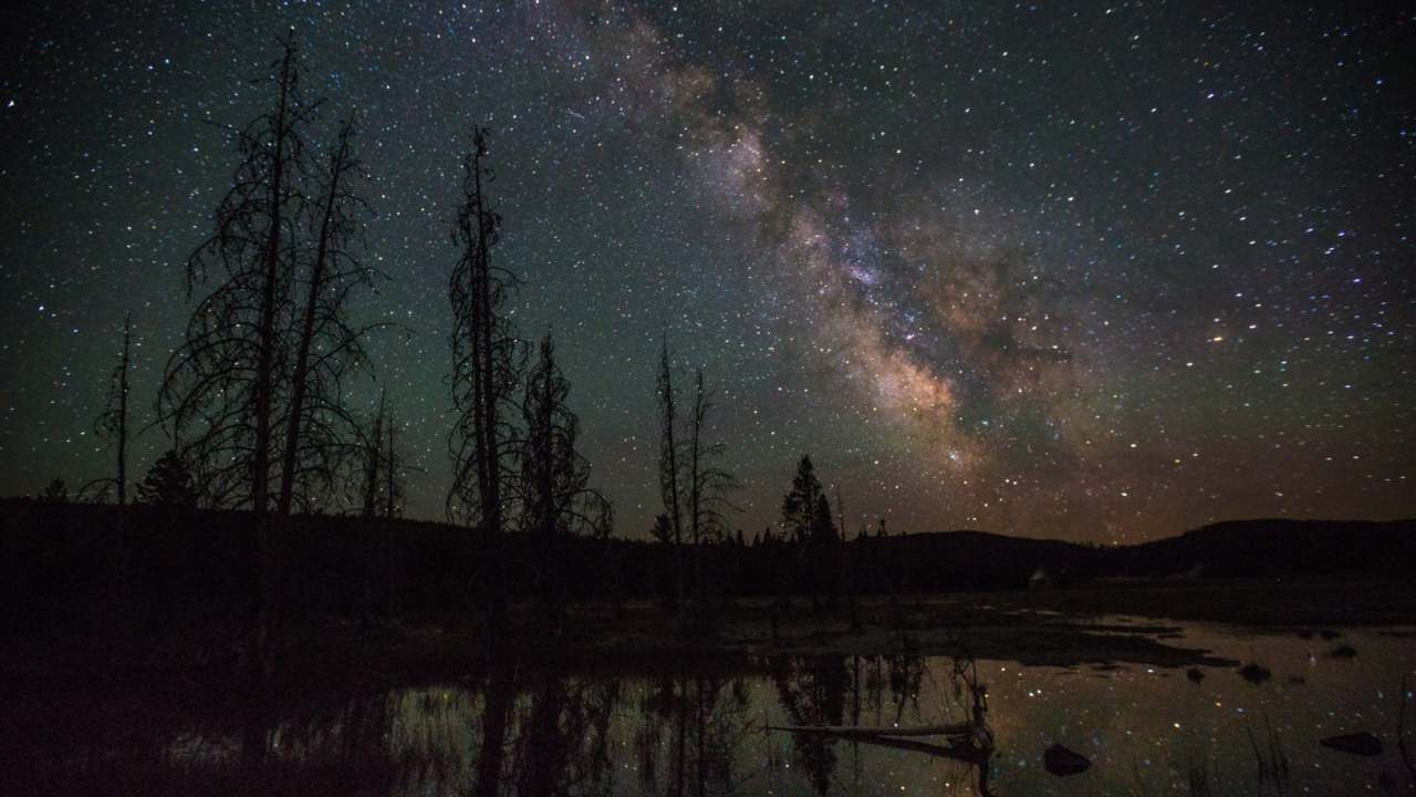 The Milky Way as seen from Yellowstone National Park. Image courtesy: Neal Herbert/Flickr