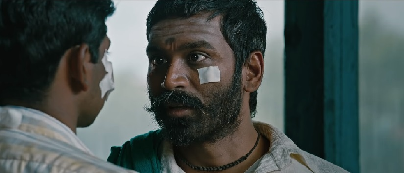 Dhanush in a still from Asuran. YouTube