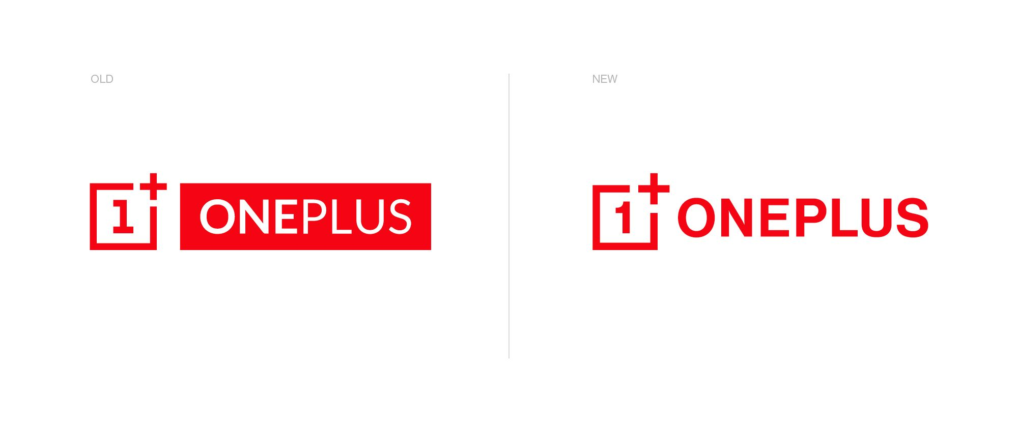The Old and New OnePlus logo and icon. Image: OnePlus