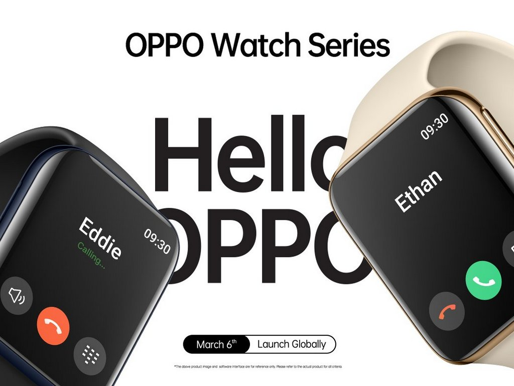Oppo Watch official teaser