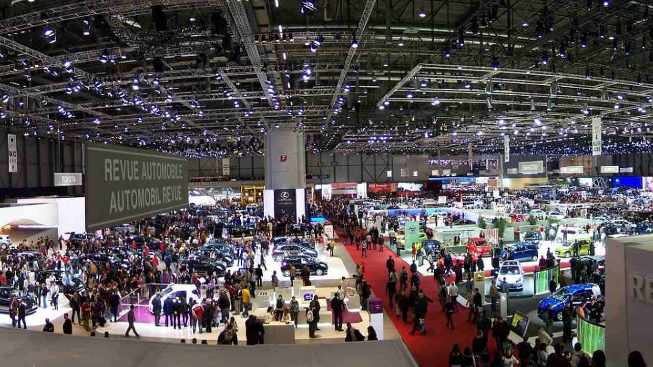 everal companies had already taken the decision to not participate in this year's Motor Show for health concerns.  Image credit: Flickr/Cédric