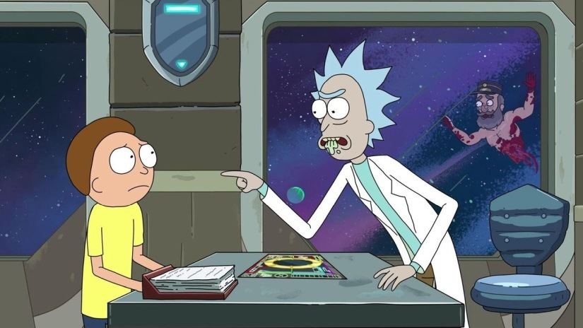 Still from Never Ricking Morty