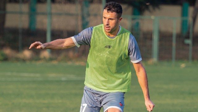 Igor Angulo, who was brought in after a dominant four-year spell in the Polish top-flight with Gornik Zabrze, has some big shoes to fill in replacing Ferran Corominas. Twitter@FCGoaOfficial