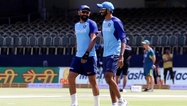 File image of Mohammed Shami (L) and Jasprit Bumrah. Image: Sportzpics for BCCI