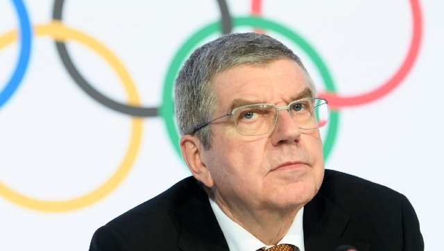 File image of IOC president Thomas Bach. AP