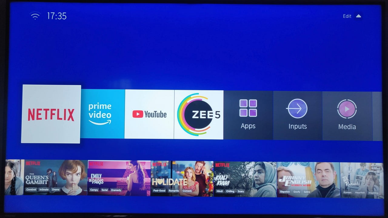 Toshiba 50U5050 4K Smart TV UI