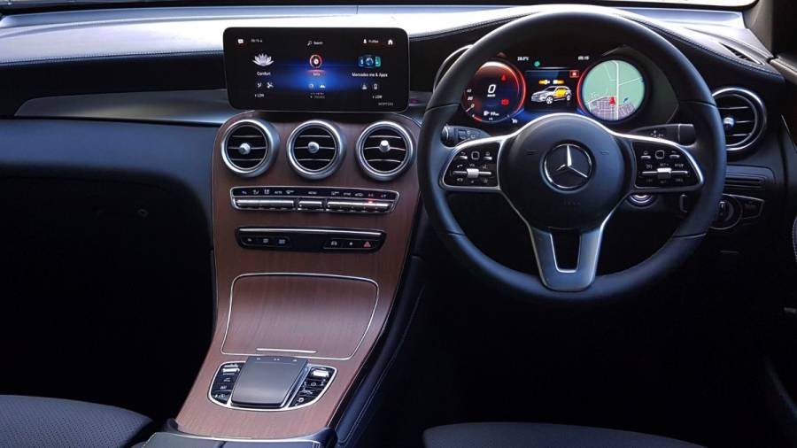 2021 Mercedes Benz GLC interiors. Image: Overdrive