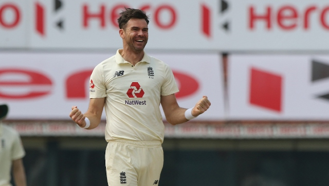 File image of James Anderson. Sportzpics