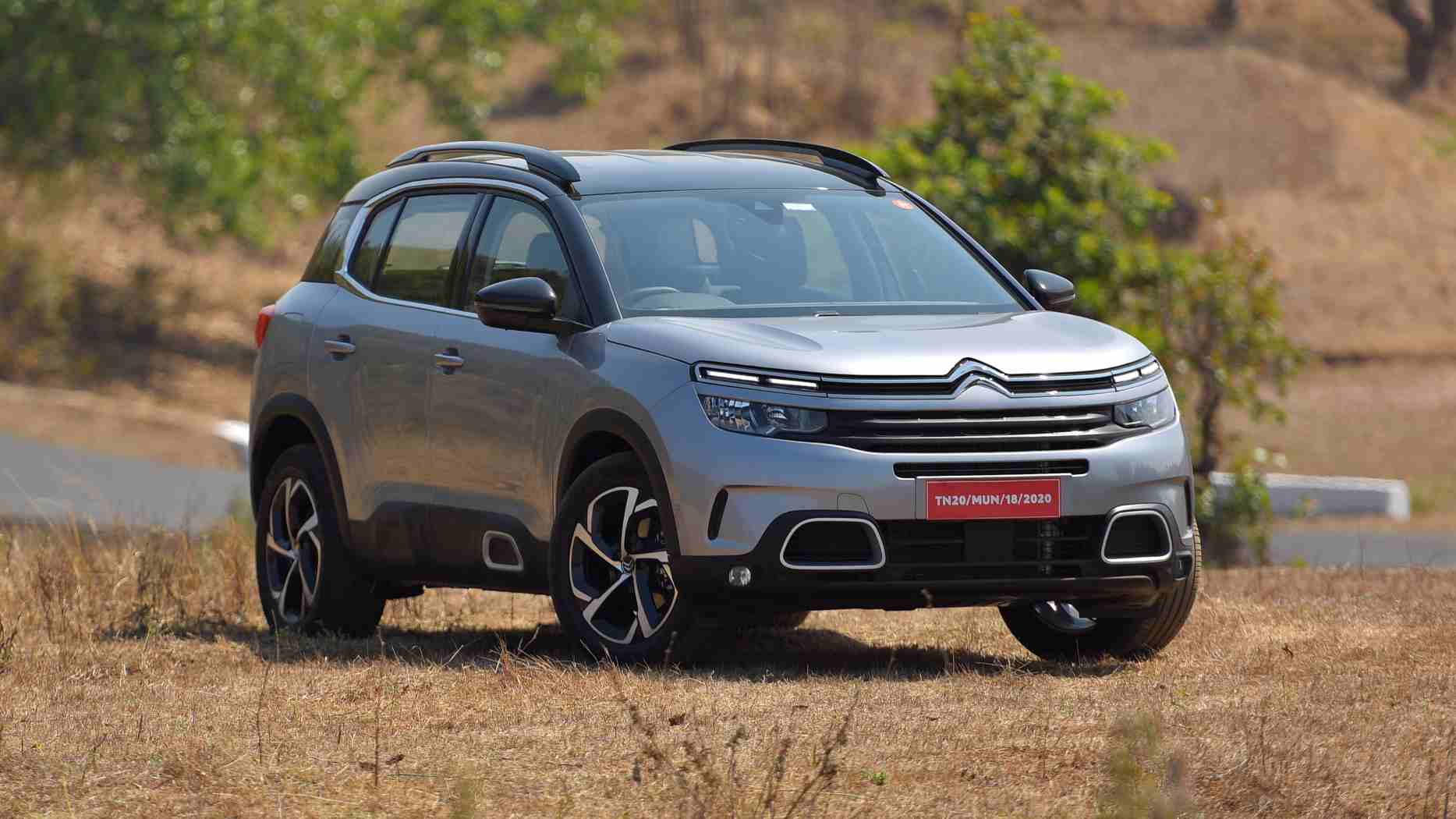 The C5 Aircross has a distinct personality of its own, which shines through in its design. Image: Overdrive/Anis Shaikh