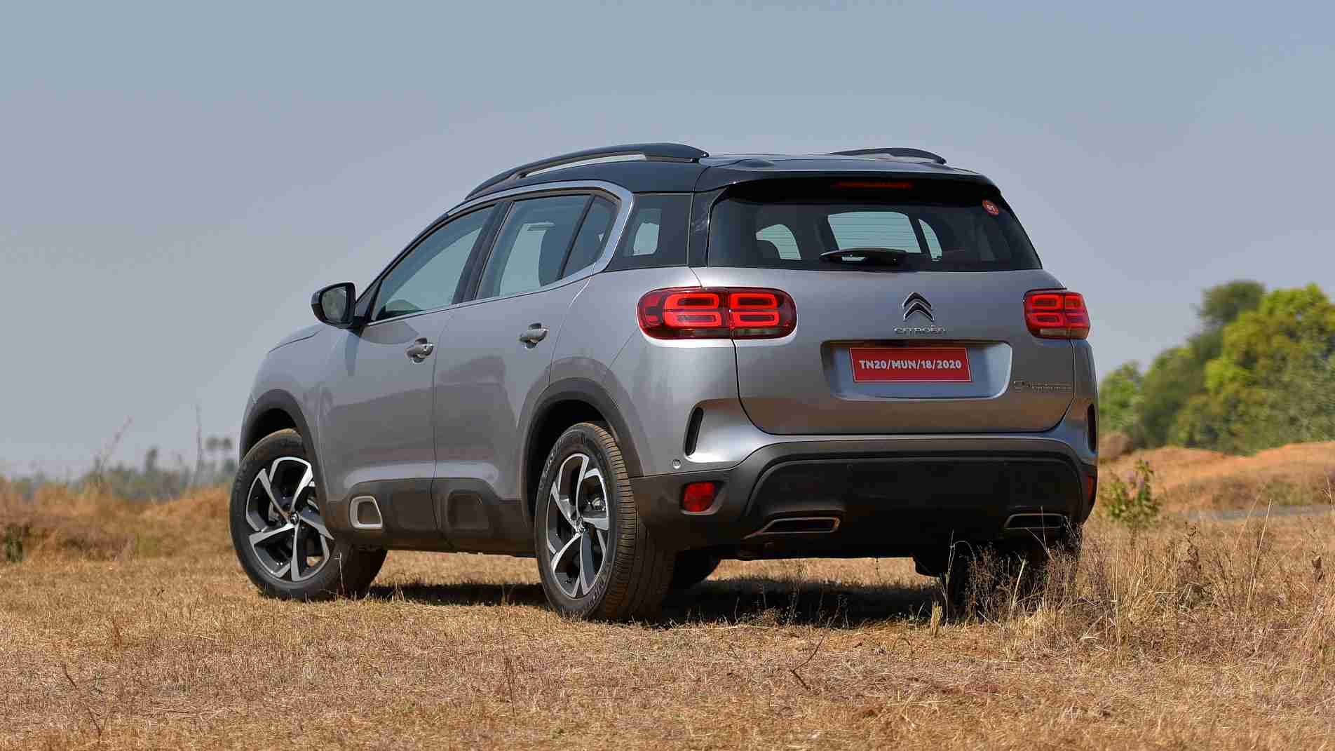 The Citroen C5 Aircross' price in India is expected to be around the Rs 25 - 30 lakh mark. Image: Overdrive/Anis Shaikh