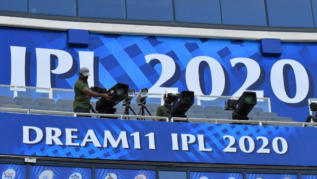 The IPL 2020 was played in UAE across three different venues but the production was done by one venue in Mumbai. Image: Sportzpics for BCCI